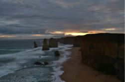 The Twelve Apostles rock formations