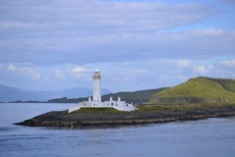 lighthouse in Oban Bay